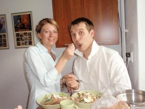 obed pred svadbou