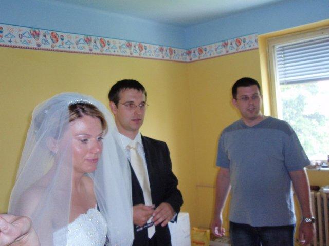 Katka{{_AND_}}Marek - týžden pred svadbou malovaná detská izba