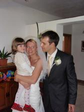 s našou dcérkou Saškou