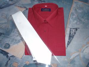 nová košile a kravata, ale tu asi změníme