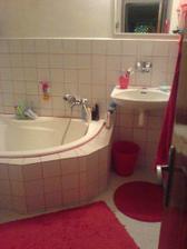 A naše nová, čisťoučká koupelna