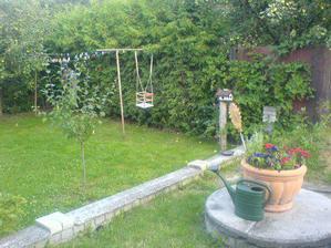 kousek naší zahrady 2008