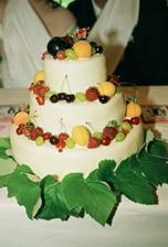 dort bude s ovocem..