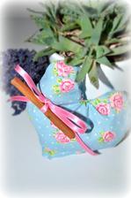 dekoračne srdiečko so škoricovým drievkom - nádherne vonia :)