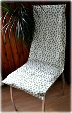 Poťah na jedálenskú stoličku, čistá bavlna, pratelná na 40 stupňoch