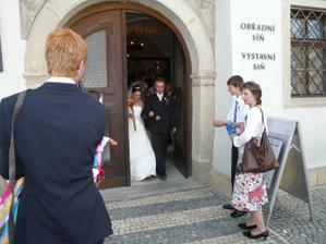 a konečně novomanželé :-)