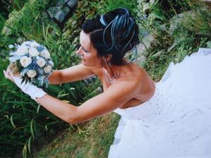 snažila jsem se nevěstu kontaktovat, tak snad neva, že fotku vystavím, jsem nadšená z toho melíru, který bych také moc chtěla