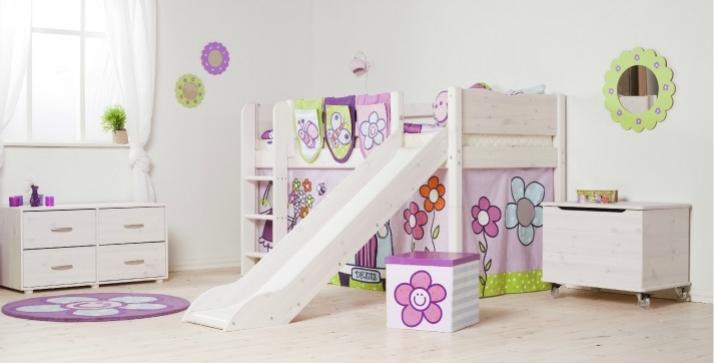 Stavba a interier - a tieto farby pre malu princeznu :)
