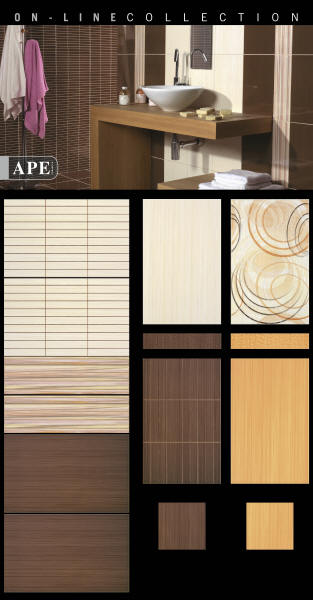 Stavba a interier - mnam, seria Online, firma APE
