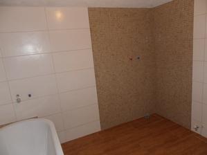 tu bude sprchac, jedneho dna...