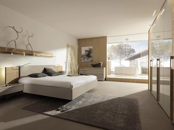 Stavba a interier - do spalne chceme drevenu postel s calunenym zahlavim