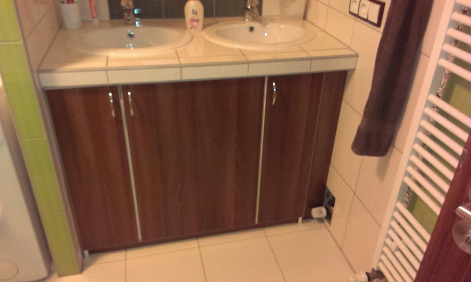 Bydlíme :) - skrínka v koupelně - jsem nadšená