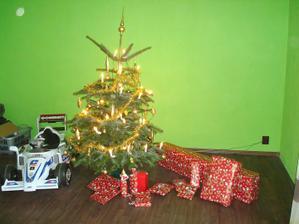 připraveny dárky pro rodinu - do štědrého dne už budu v práci ...