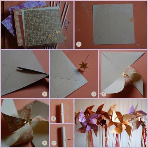 Lila mania - Už mám koupené papíry na scrapbook, jsou oboustrané a větrníky vyrobím opět hand made