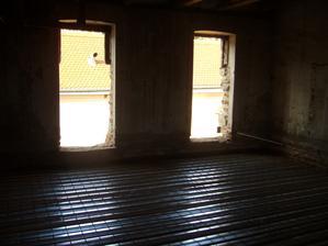 okna od dětských pokojů