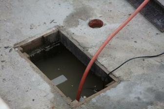 šachtu na splaškovu vodu využivame stale