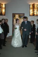 příchod nevěsty :o)