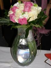 svatební kytička, povedla se :o)