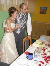 před krájením dortu :o)