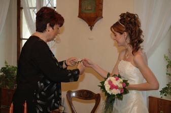 A takto nevěsta :o)