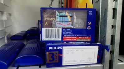 Philips audiokazety do starých kazeťákov... tri kusy za 0,50€