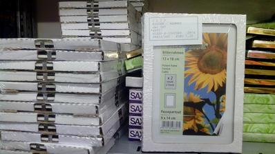 Sklenené fotorámiky 13x18cm 2ks v balení za 1,20€