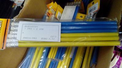 Ceruzky - balenie 6ks za 0,50€