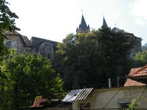 Na koniec ešte raz pohľad na beňadický kláštor...
