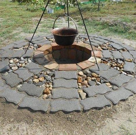 Záhradné ohnisko rýchlo a jednoducho - Obrázok č. 4