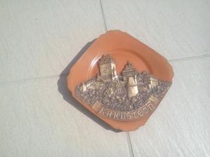 Pamiatka z návštevy hradu Karlštejn ešte z mojich školských rokov. 70-te roky minulého storočia. :o)