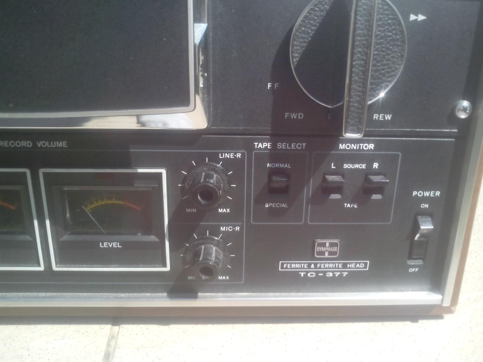 Sony TC 377 - Obrázok č. 2