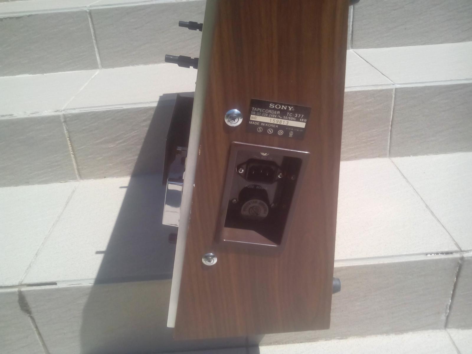Sony TC 377 - Obrázok č. 3
