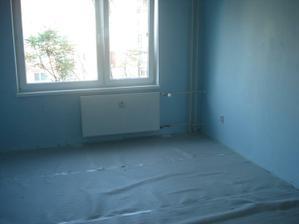 vyprataná bývalá spálňa