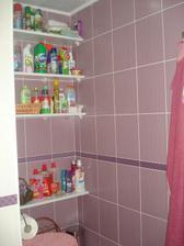druhé WC +čistiace prostriedky