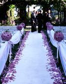 Koberec na svatební obřad,
