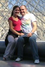 Na naše 1.výročie svadby sme boli v Paríži, už aj s maličkou v brušku (cca 5. týždeň)