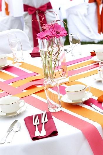 Yellow pink wedding - Obrázek č. 25