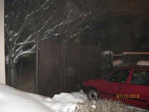 Dnes nám pozemek zapsali na katastru 12/2010