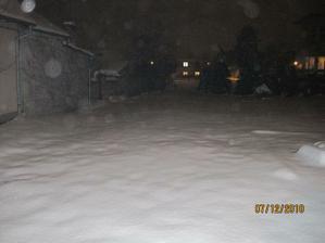 V Praze kalamita sněhu kupy :-)