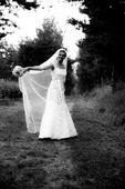 svadobné šaty z jemnej čipky, 36