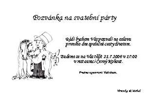 pozvanka na party