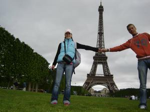 předsvatební cesta do Paříže