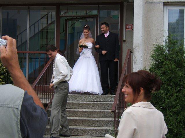 Veronika{{_AND_}}Michal - nevěsta s tatínkem