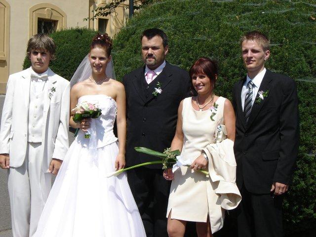 Veronika{{_AND_}}Michal - celá rodinka