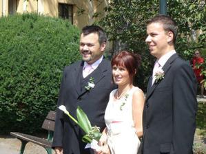 moje rodiče a manžel