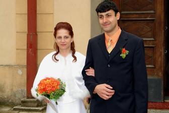 už novomanželé...
