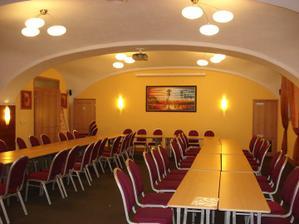 Konferencni mistnost - kapacita pry do 70 hostu.