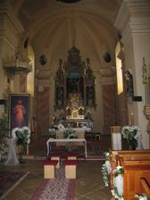 Takto sme mali vyzdobený kostolík