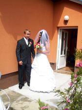 můj milovaný ženich :-)