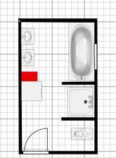takto bude vyzerať kúpelňa...